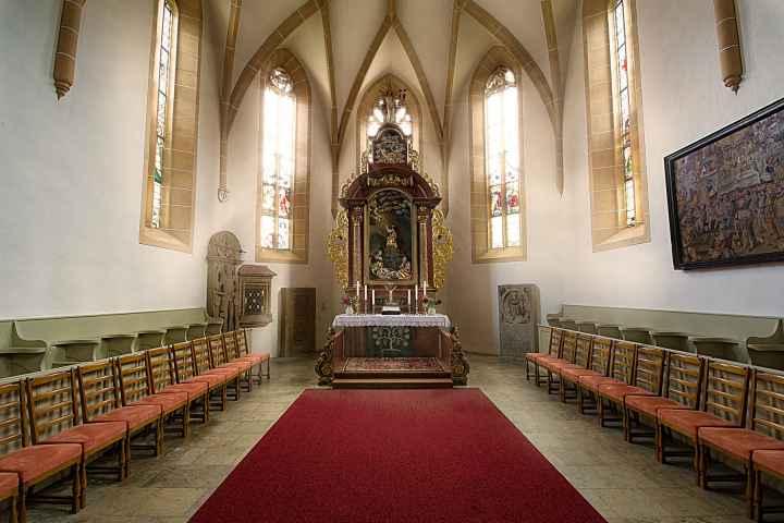 Chor und Altar Kirche Kasendorf