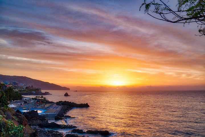 Sonnenaufgang Funchal Madeira