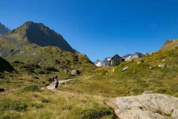 Auf dem Weg zur Franz Senn Hütte
