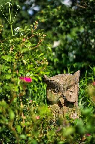 Eule Skulptur