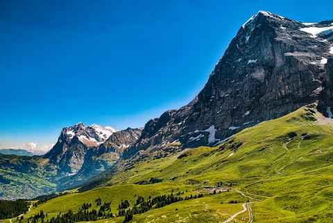 Eiger und Grindelwald