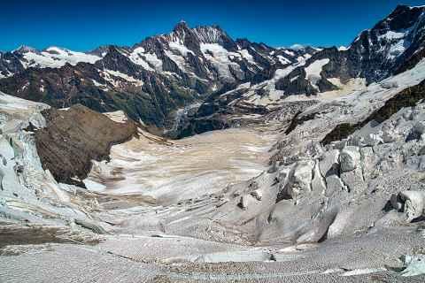 Eismeer am Jungfraujoch
