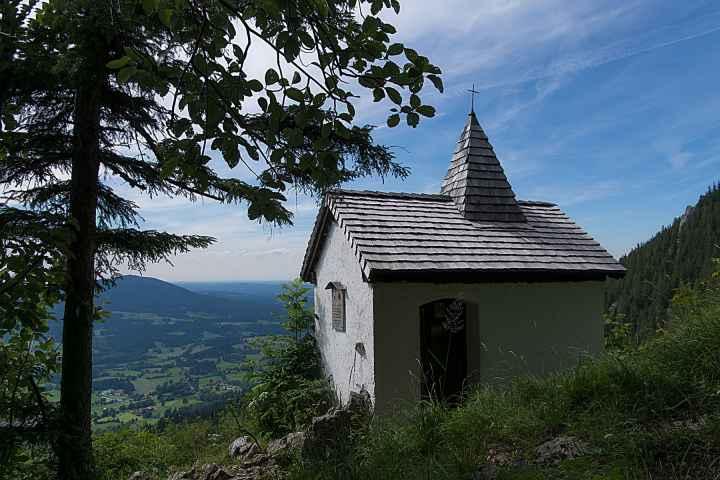 Kapelle zwischen Fischbachau und der Kesselalm