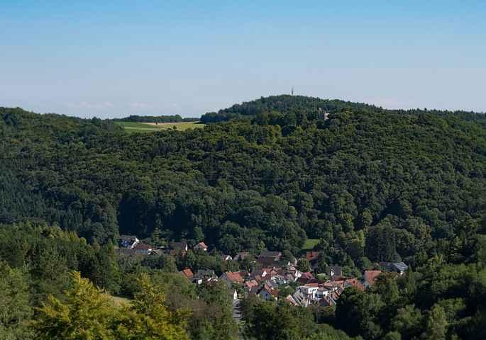 Blick vom Prelitz auf Kasendorf