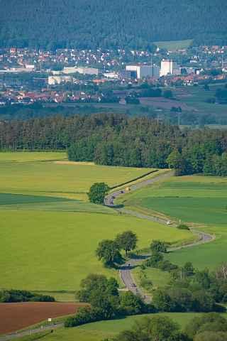 Blick vom Magnusturm Richtung Kulmbach