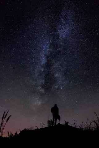 Milchstraße von Leesau aus