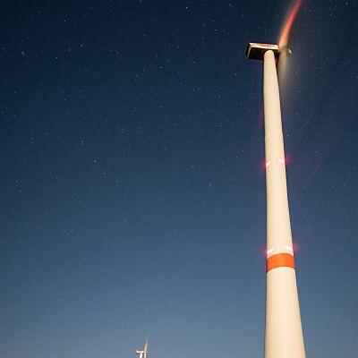 Windräder bei Kasendorf