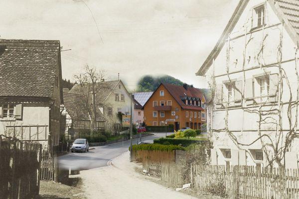 Ortseinfahrt Kasendorf aus Richtung Thurnau