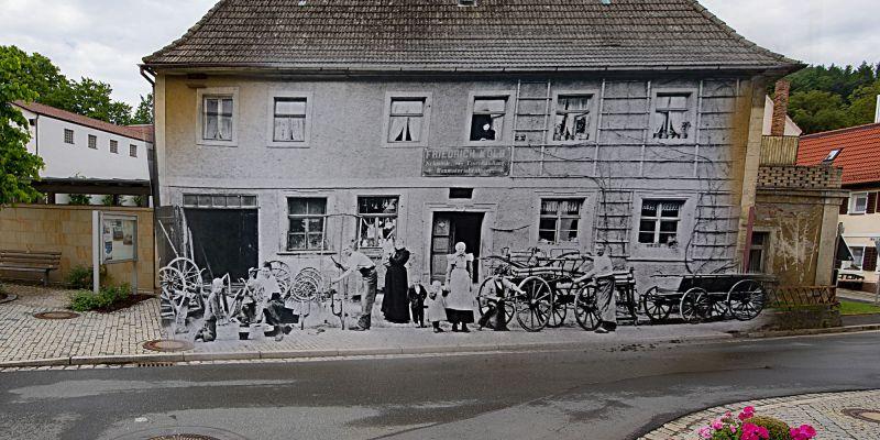 Kolb Schmiede Eisenhandlung Baumaterialien in Kasendorf