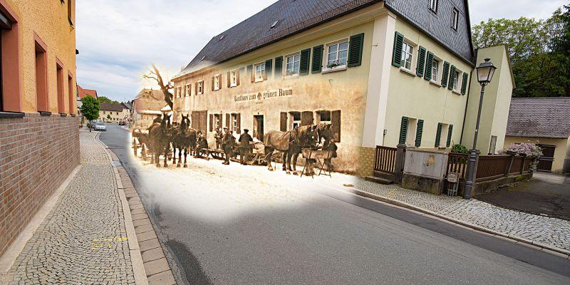 Gasthaus zum grünen Baum in Kasendorf